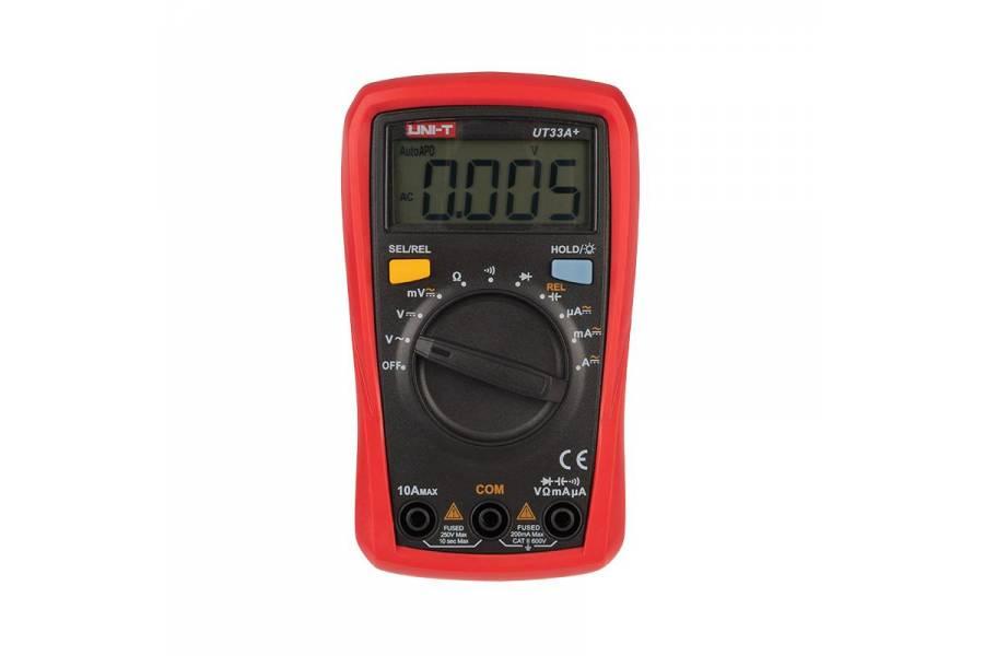 Мультиметр портативный UT33A+ с автовыбором диапазона емкость UNI-T 13-0055