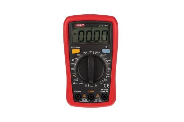 Мультиметр портативный UT33B+ с тестом батареек UNI-T 13-0056