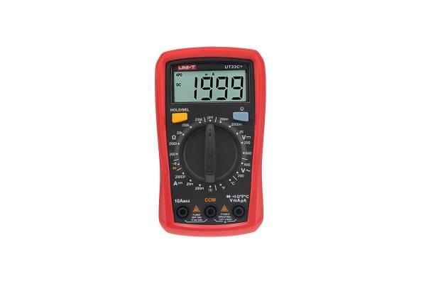 Мультиметр портативный UT33C+ с измер. температуры прозвонка UNI-T 13-0057