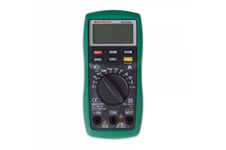 Мультиметр универсальный MS8221C Mastech 13-2056