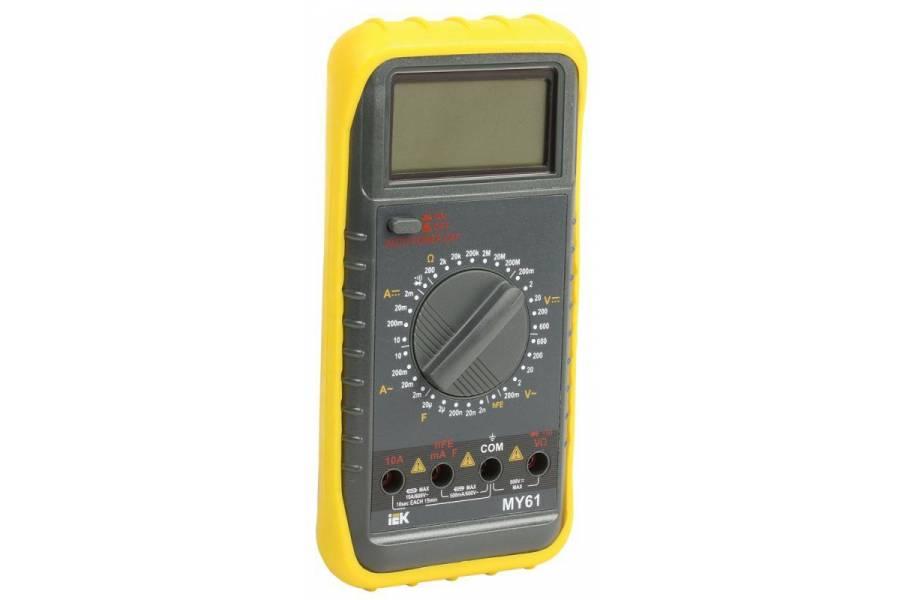 Мультиметр цифровой Professional MY61 IEK TMD-5S-061