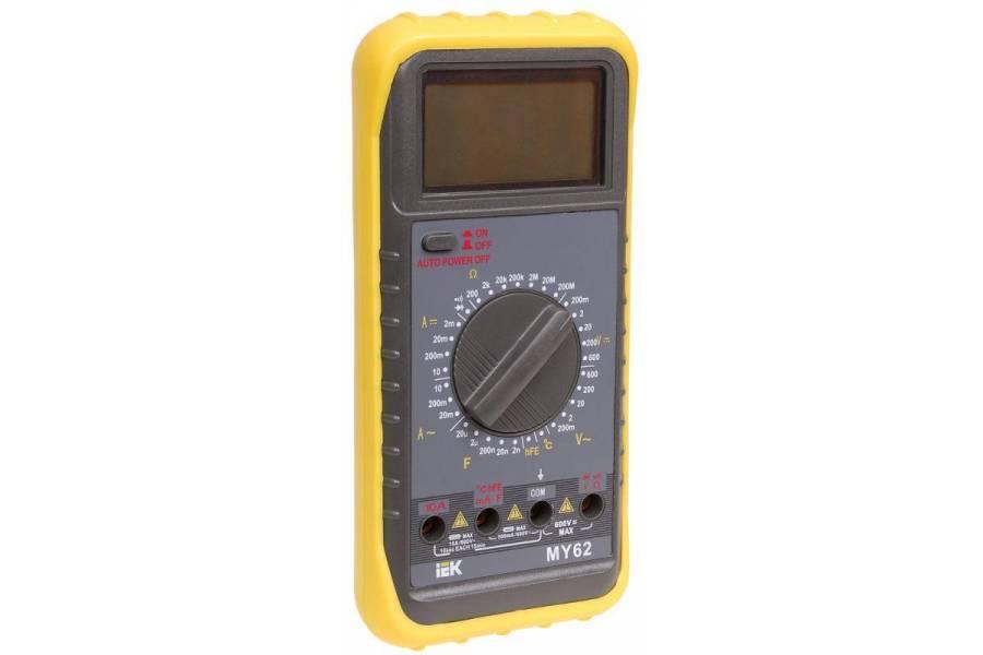 Мультиметр цифровой Professional MY62I IEK TMD-5S-062