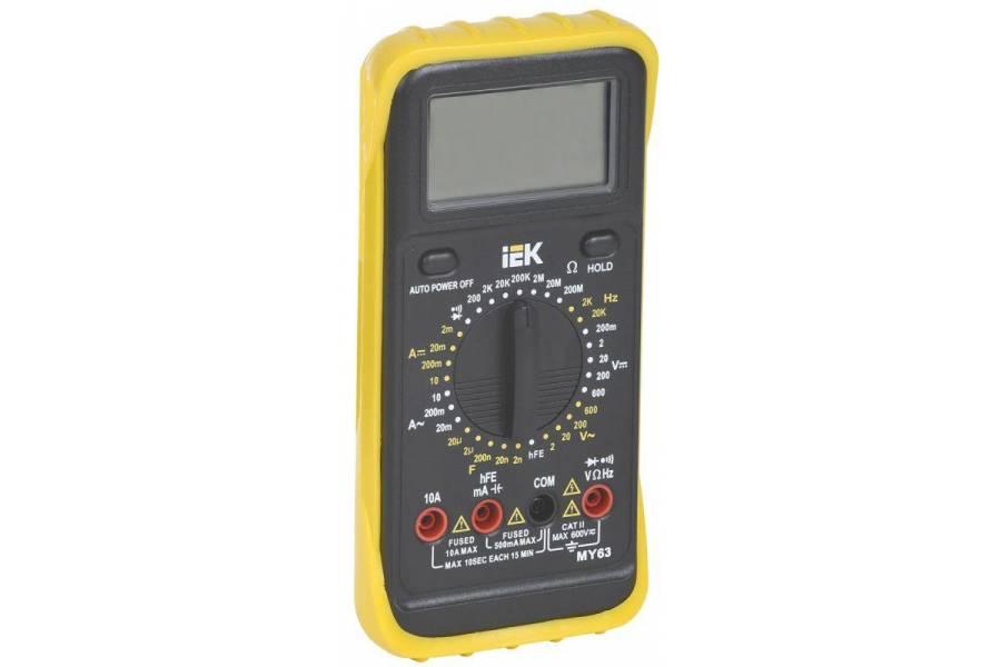 Мультиметр цифровой Professional MY63 IEK TMD-5S-063