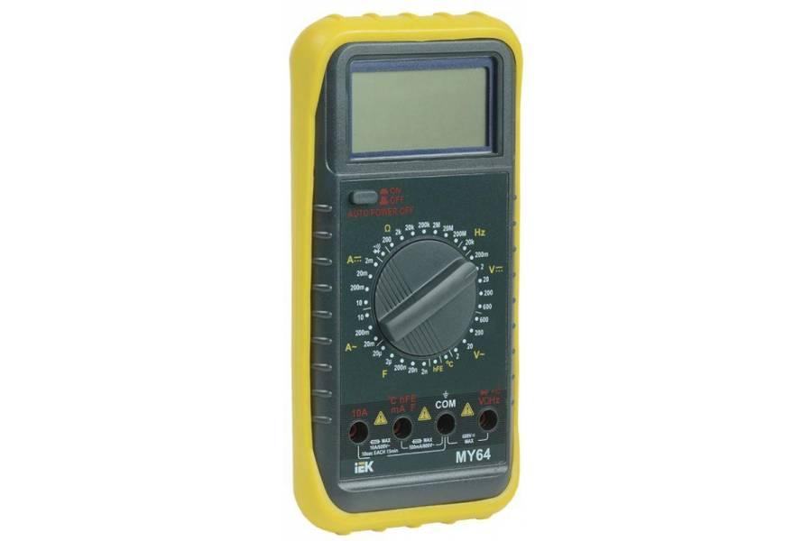 Мультиметр цифровой Professional MY64 ИЭК TMD-5S-064