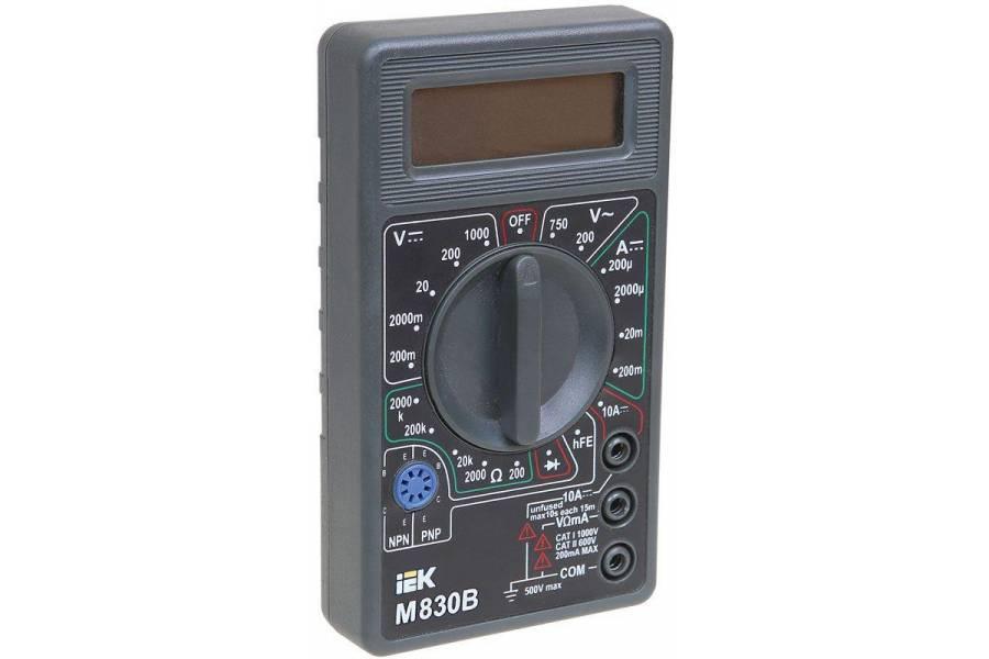 Мультиметр цифровой Universal M830B IEK TMD-2B-830